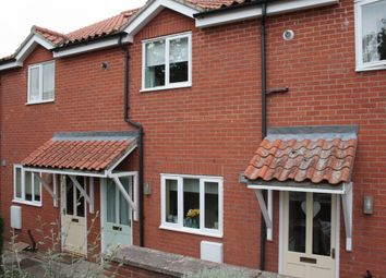 Thumbnail 2 bedroom terraced house to rent in Quaker Court, Quaker Lane, Fakenham
