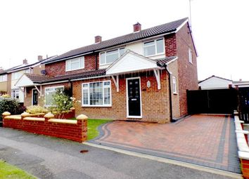 Thumbnail 3 bed semi-detached house for sale in Pipit Rise, Brickhill, Bedford, Bedfordshire