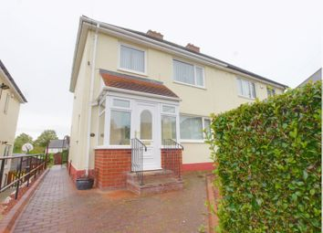 Thumbnail 3 bed semi-detached house for sale in Hewley Crescent, Throckley, Newcastle Upon Tyne