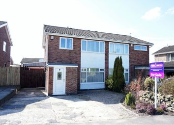 Thumbnail 3 bed semi-detached house for sale in Kenmore Crescent, Coalville