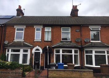Thumbnail 3 bedroom terraced house to rent in Hampton Road, Ipswich