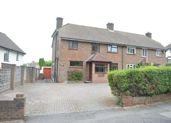 Thumbnail 3 bed semi-detached house for sale in Nork Way, Banstead
