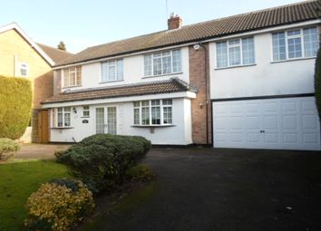 Thumbnail 5 bed detached house for sale in Launde Road, Oadby