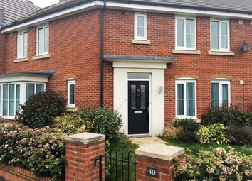 Thumbnail 3 bed terraced house for sale in Octocal Way, Swindon