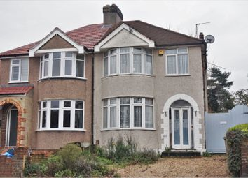 Thumbnail 3 bed semi-detached house for sale in Chastilian Road, Dartford