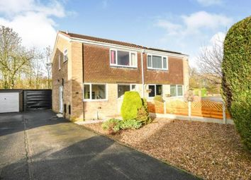 Thumbnail 3 bed semi-detached house for sale in Westbridge Road, Barlborough, Chesterfield, Derbyshire