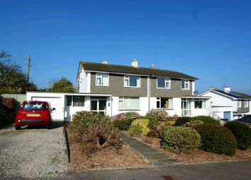 Thumbnail 3 bed semi-detached house for sale in Northfield Drive, Truro