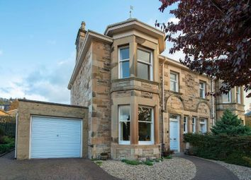 Thumbnail 4 bed semi-detached house for sale in Keir Street, Bridge Of Allan, Stirling, Scotland