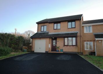 Thumbnail 4 bed end terrace house for sale in Torwood Close, Bodmin