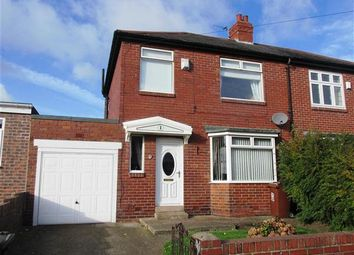 Thumbnail 3 bed semi-detached house for sale in Legion Road, Denton Burn, Newcastle Upon Tyne