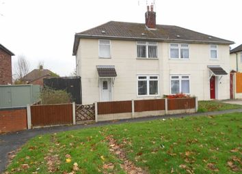 Thumbnail 3 bed semi-detached house for sale in Moreton Road, Crewe