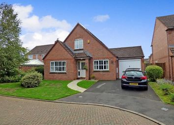 Thumbnail 4 bed detached bungalow for sale in Dunnillow Field, Stapeley, Nantwich