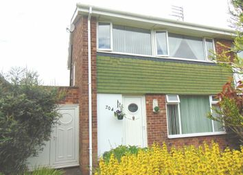 Thumbnail 3 bed semi-detached house for sale in Westgarth, Westerhope, Newcastle Upon Tyne