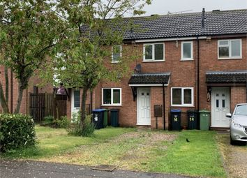 Thumbnail 2 bed terraced house to rent in Kirtley Way, Broughton Astley, Leicester