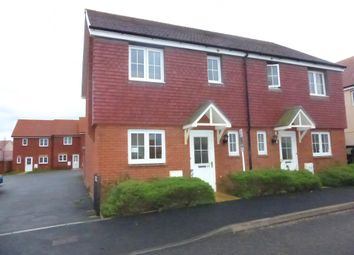 Thumbnail 3 bedroom property to rent in St Michaels Way, Cranbrook, Exeter