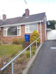 Thumbnail 4 bed bungalow to rent in Welford Rise, Burton-On-Trent