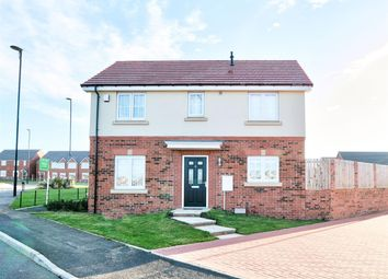Thumbnail 3 bed detached house for sale in Hotspur North, Backworth, Newcastle Upon Tyne