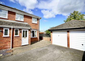 Thumbnail 3 bed end terrace house for sale in Flint Way, Eynesbury, St Neots