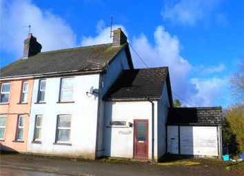 Thumbnail 3 bed semi-detached house for sale in Pant Y Dwr, Rhayader