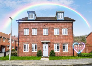 Thumbnail 5 bed detached house for sale in Nocton Hall Drive, Halton Camp, Aylesbury