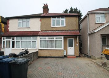 Thumbnail 2 bed semi-detached house to rent in Wood End Gardens, Northolt