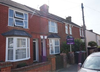 Thumbnail 3 bed terraced house for sale in Curtis Road, Ashford