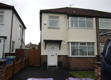 Thumbnail 3 bed semi-detached house to rent in Lisleholme Crescent, Liverpool