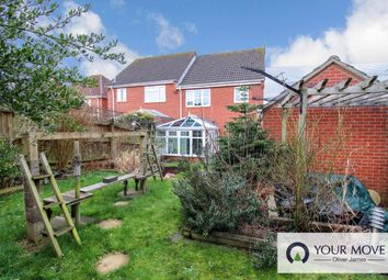 Thumbnail 3 bed semi-detached house for sale in Meadowvale Close, Beccles