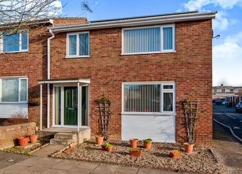 Thumbnail 3 bedroom end terrace house for sale in Hunter Road, Bury St. Edmunds