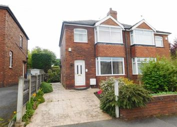 Thumbnail 3 bed semi-detached house for sale in South View, Woodley, Stockport