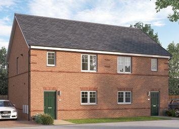 "Thumbnail 3 bed terraced house for sale in ""The Queensbridge"" at Chilton, Ferryhill"