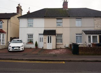 Thumbnail 2 bed terraced house for sale in Albemarle Road, Ashford