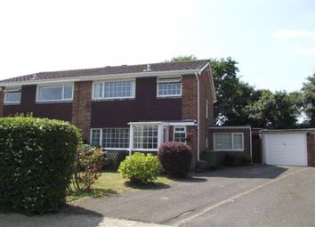 Thumbnail 3 bed semi-detached house to rent in Beverley Road, Fareham