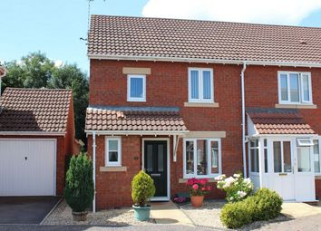 Thumbnail 3 bed end terrace house for sale in Merrifields, Cotford St Luke, Taunton, Somerset