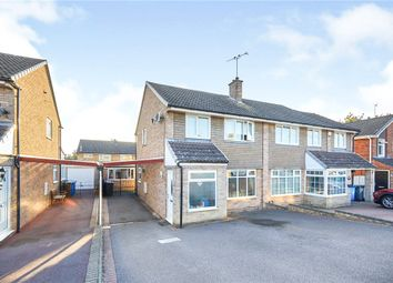 Thumbnail 3 bed semi-detached house for sale in Daventry Close, Mickleover, Derby