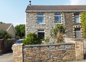 Thumbnail 2 bedroom semi-detached house for sale in 9 Station Road, Llanmorlais, Swansea