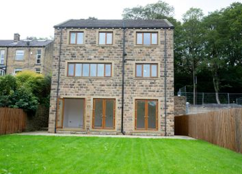 Thumbnail 6 bed detached house for sale in Riverside View, Woodhead Road, Honley