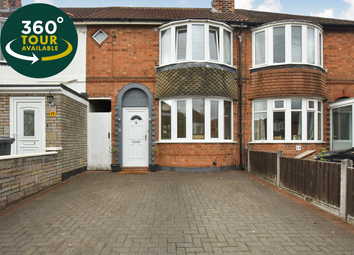 Thumbnail 2 bed town house for sale in Bradston Road, Aylestone, Leicester
