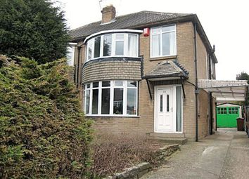Thumbnail 3 bed semi-detached house to rent in Carr Manor Drive, Meanwood, Leeds