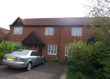 Thumbnail 2 bed terraced house to rent in Dorking Place, Shenley Brook End, Milton Keynes