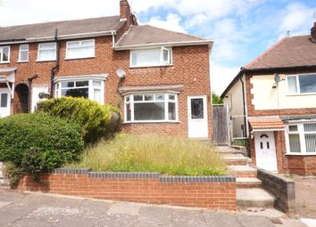Thumbnail 2 bedroom end terrace house to rent in Carmodale Avenue, Great Barr, Birmingham