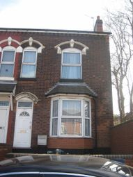 Thumbnail 3 bed end terrace house to rent in Washwood Heath Road, Washwood Heath, Birmingham