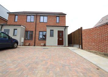 Bailey Drive, Castle Hill, Ebbsfleet Valley, Swanscombe DA10. 2 bed semi-detached house