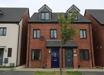 Thumbnail 3 bed terraced house for sale in Haven Walk, Barry