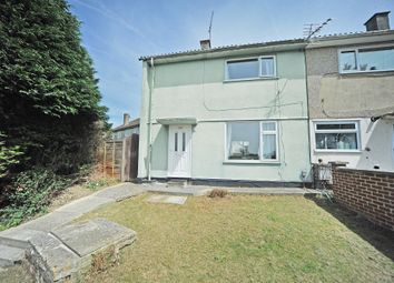 Thumbnail 2 bedroom end terrace house for sale in Shrewton Walk, Swindon
