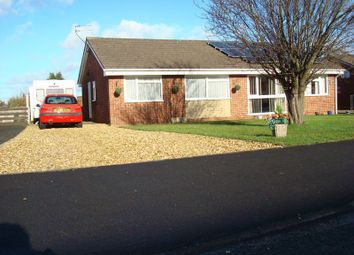Thumbnail 2 bed semi-detached bungalow for sale in Meadow Rise, Oswestry, Shropshire