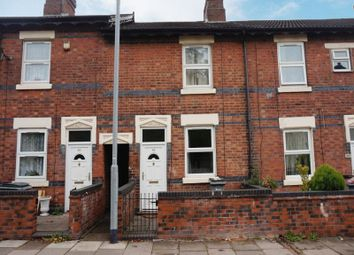 Thumbnail 2 bed terraced house for sale in Upper Normacot Road, Longton, Stoke-On-Trent, Staffordshire
