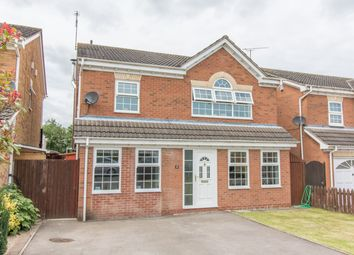 Thumbnail 4 bed detached house for sale in Burnside Road, Broughton Astley