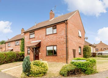 Thumbnail 3 bed detached house for sale in Larwood Close, Necton, Swaffham