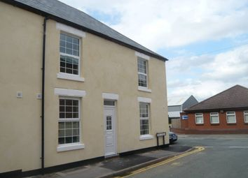 Thumbnail 1 bed end terrace house to rent in Wood Court, Wood Street, Burton-On-Trent